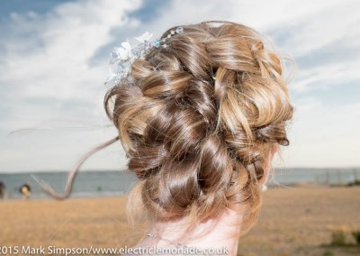 wedding hair at kuru, havant