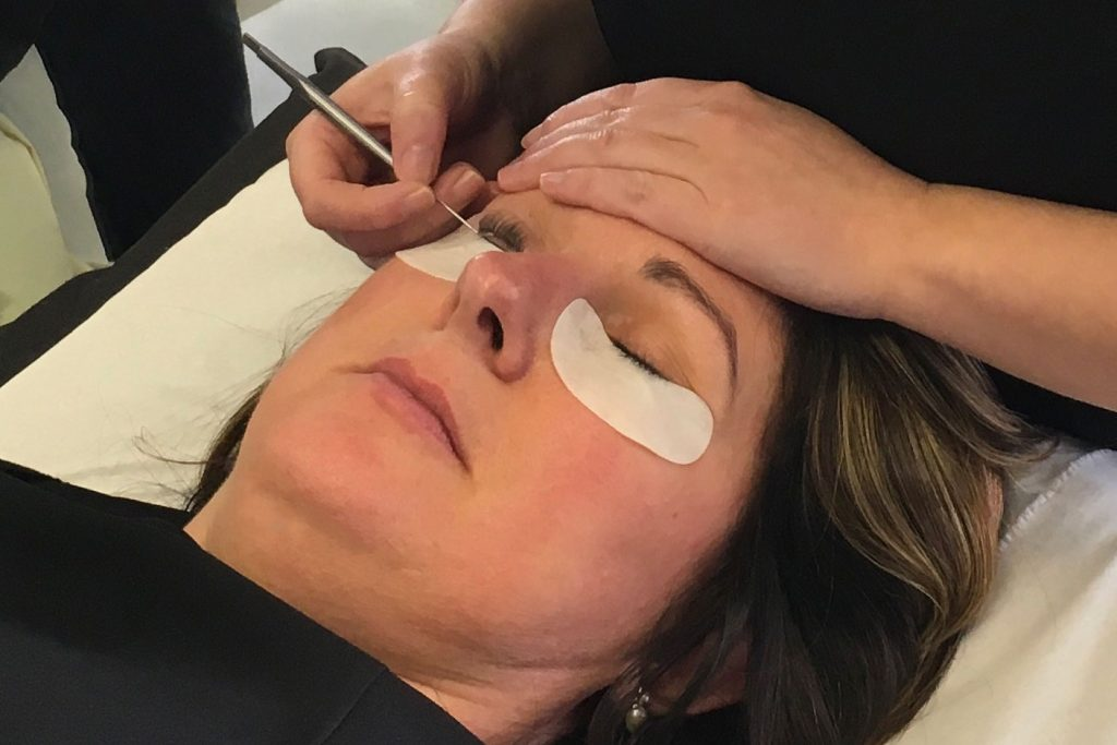 eyelash lifting at Kuru, Havant