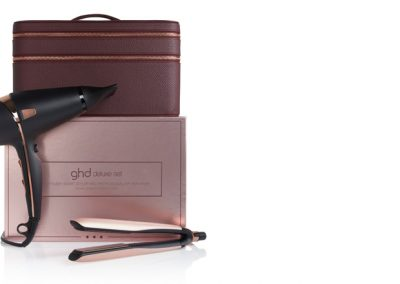 ghd platinum+ & air limited edition rose gold deluxe set